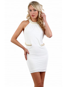 1 37748-WH Robe Glamour