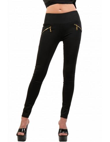 1 9060-BK Pantalon Slim
