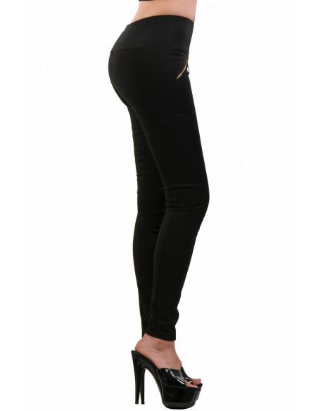2 9060-BK Pantalon Slim
