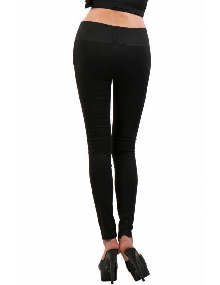 3 9060-BK Pantalon Slim