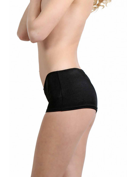 2 Boxer short stretch. Taille basse