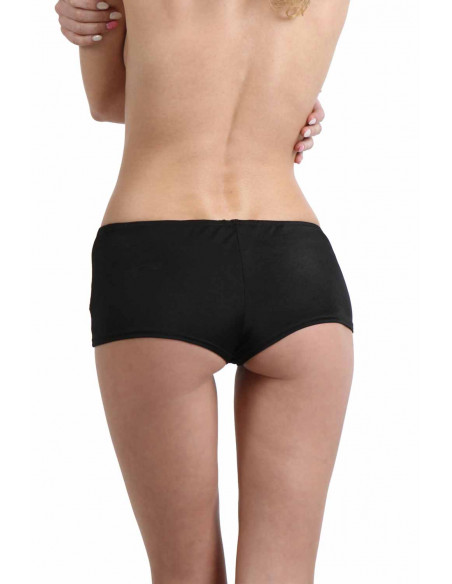 3 Boxer short stretch. Taille basse