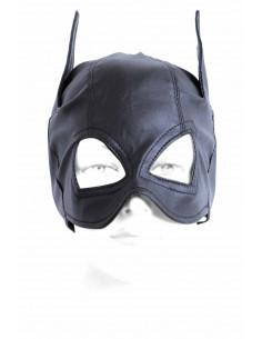 1 Masque Catwoman en similicuir.