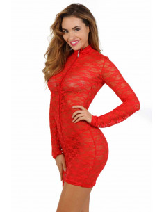 1 Robe sexy dentelle stretch