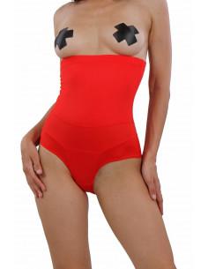 1 Culotte taille haute gainante ventre plat. Taille unique Composition : Polyester 95% , Coton 5%